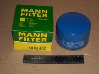 Фильтр масленый MANN Ваз 2110-2170